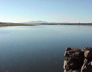 Cochiti Dam Dam in Cochiti Pueblo, Sandoval County, New Mexico, USA