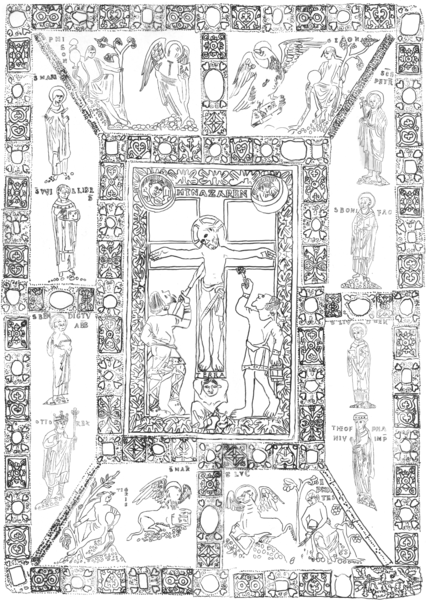 File:Codex aureus epternacensis drawing of front cover.png