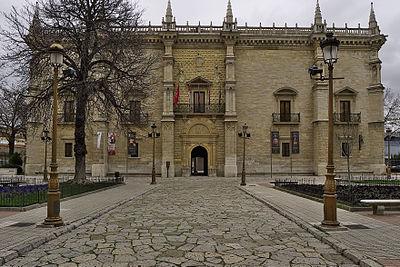 Colegio mayor santa cruz wikipedia la enciclopedia libre - Paginas amarillas de valladolid ...