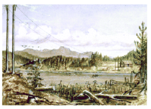 Collins Overland Telegraph Cabin on Lake.png