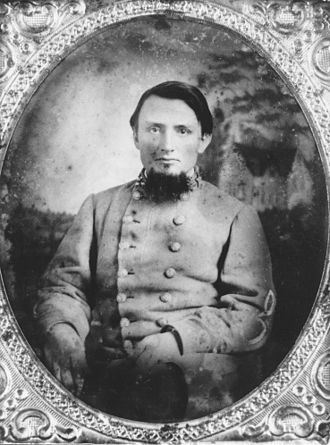 3d Arkansas Infantry Regiment (Confederate States) - Colonel Van. H. Manning photographed in the early 1860s
