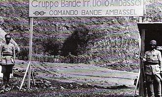 "Bands (Italian Army irregulars) - ""Bande Ambassel"" of Italian Army irregulars in 1939 Ethiopia"