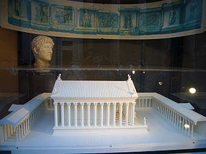 Temple of Hadrian - Reconstruction
