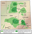 Colorado, Utah and Wyoming oil shale deposits.jpg