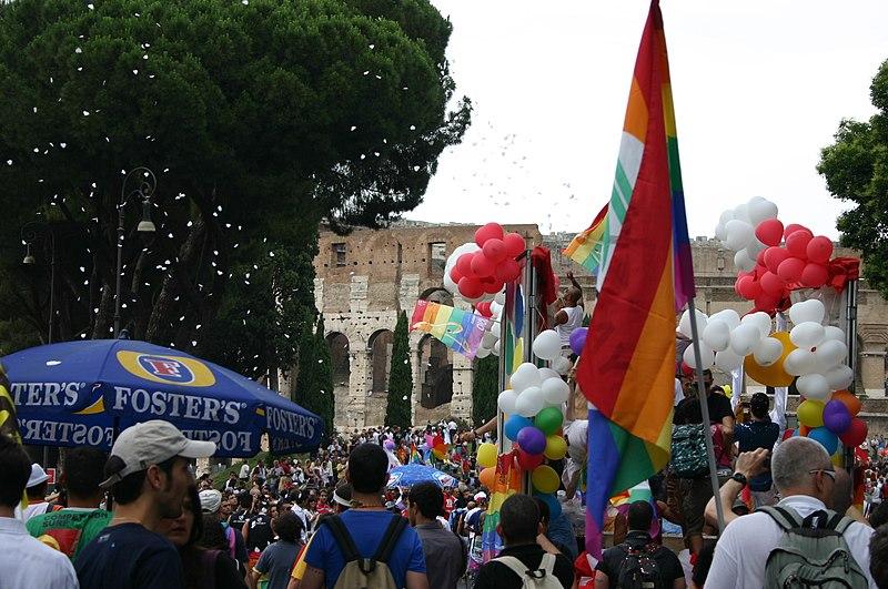 from Matthias gay pride rome 2008