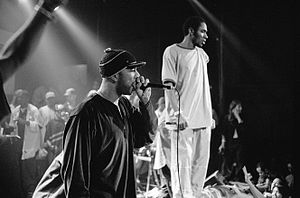 Common (rapper) - Common performing with Mos Def, 1999