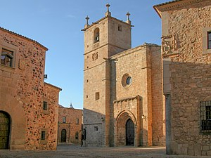 Cáceres Cathedral - Co-Cathedral of Cáceres