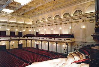 Sonntag aus Licht - Interior of the Concertgebouw, Amsterdam, where Engel-Prozessionen was premiered on 9 November 2002