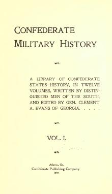 Confederate Military History - 1899 - Volume 1.djvu
