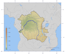 Map Of Africa Zaire River.Congo River Wikipedia