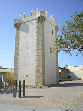 Conil de la Frontera - Tower of Guzmán.