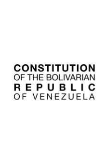 Constitution of the Bolivarian republic of Venezuela.djvu
