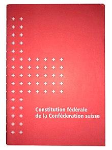 Verfassung suisse version française.jpg