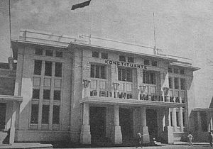 Constitutional Assembly of Indonesia - The Constituent Assembly Building in Bandung
