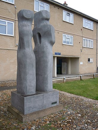 Contrapuntal Forms (Hepworth) - Contrapuntal Forms, in Harlow in 2016