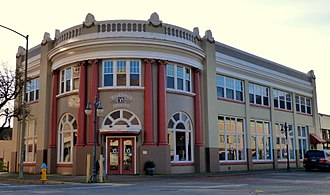 Coos County, Oregon - Image: Coos Bay National Bank Bldg Coos Bay Oregon