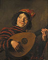 Cornelis Smith after Judith Leyster - A clown playing the lute.jpg
