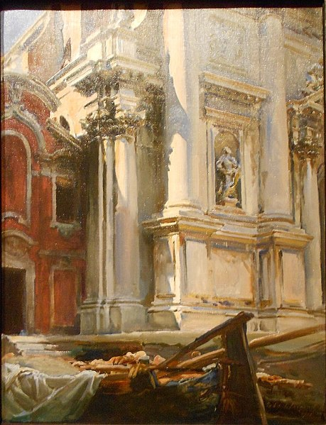 File:Corner of the Church of San Stae, Venice.JPG
