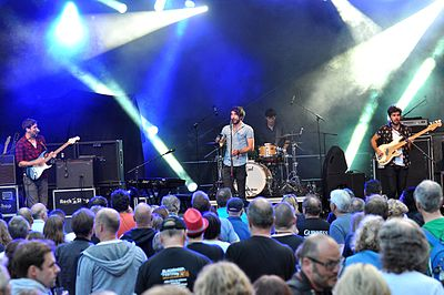 Picture of a band or musician: The Coronas