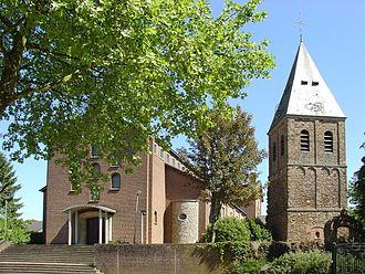 Municipalities of Limburg (Netherlands) - Church in the town of Afferden