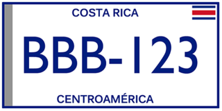 Vehicle registration plates of Costa Rica Costa Rica vehicle license plates