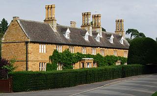 Cottesbrooke village in the United Kingdom
