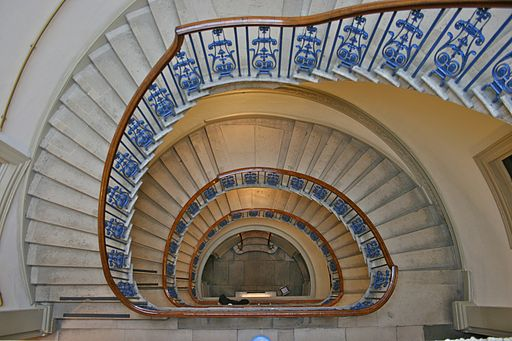 Courtauld Gallery, Staircase