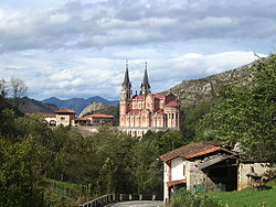 Skyline of Covadonga