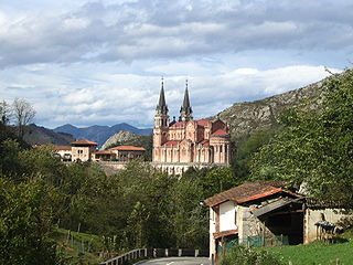 Covadonga Parish in Asturias, Spain
