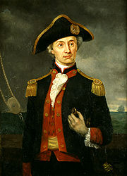 John Paul Jones, America's first well-known navy hero.