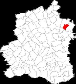 Vị trí của Crevenicu