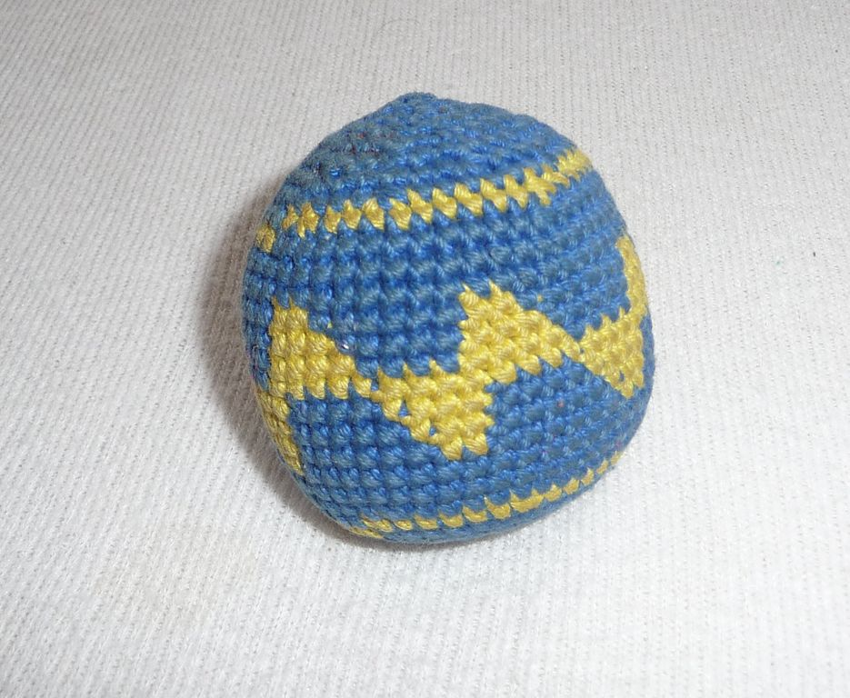 Filecrocheted Hacky Sack 5g Wikimedia Commons