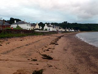 Cromarty town in Scotland, United Kingdom