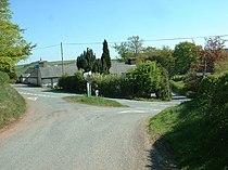 Crossroads in Anchor village - geograph.org.uk - 425671.jpg