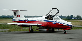 Canadair CT-114 Tutor - CT-114 Tutor of the Canadian Snowbirds display team