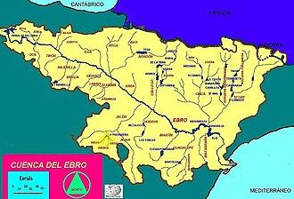 Piedra (Spain) - Image: Cuenca del rio Piedra
