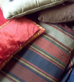 Cushion - Cushions: often found in piles