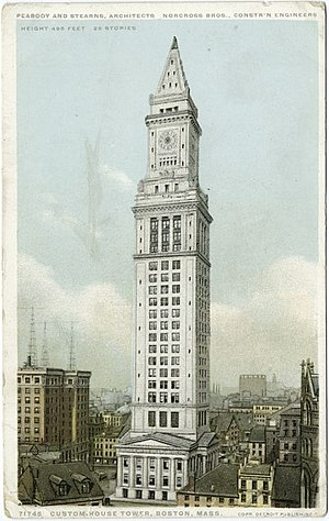 Boston Custom House - Custom House Tower, early 20th century