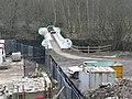 Cycleway bridge over the River Calder, Sowerby Bridge - geograph.org.uk - 1169873.jpg