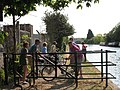 Cyclists on the towpath - geograph.org.uk - 2388220.jpg