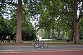 Cyclists passing St James's Park - geograph.org.uk - 1500936.jpg