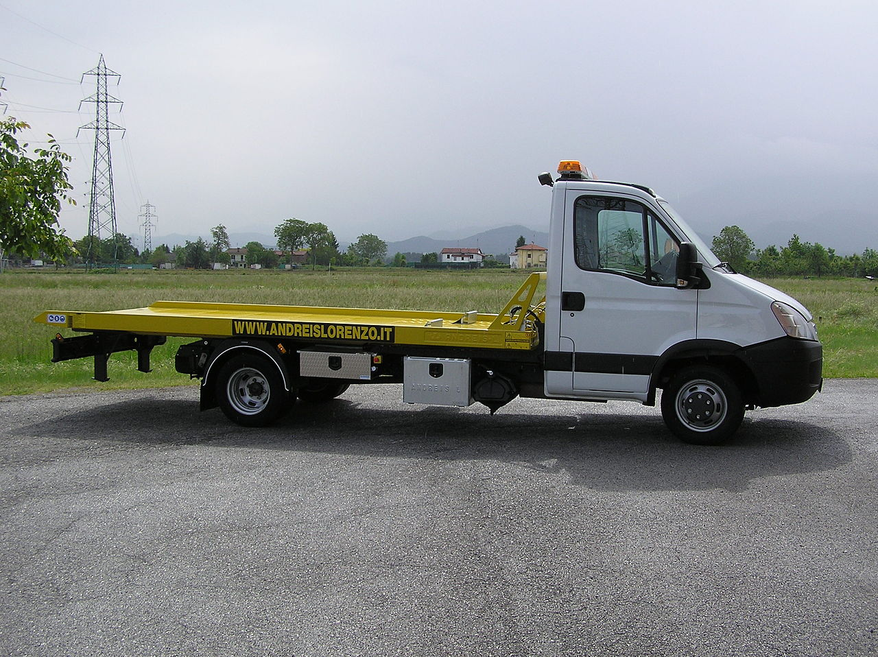 File D Panneuse Carro Attrezzi Towing Truck Abschleppwagen