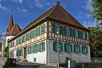Gollhofen - Former school house