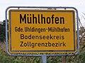 D-BW-Uhldingen-MÜHLHOFEN - Ortsschild ZGB 001.JPG