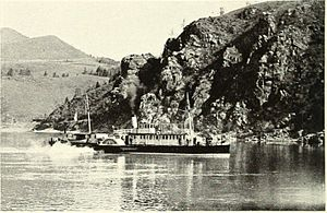 Shilka River - The S.S. AMUR on the Shilka River (c.1902)