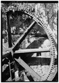 DETAIL OF DRIVE WHEEL, NOTE NUMERICAL INDICATIONS - Estate Adrian, Cruz Bay, St. John, VI HAER VI,2-CRUZBA,3-3.tif