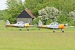 DHC-1 Chipmunks 'OY-ATO' & 'OY-AVF' (32912700981).jpg