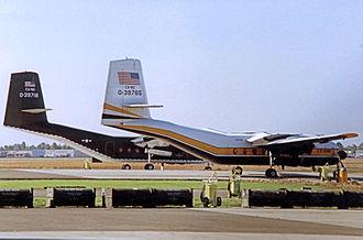 De Havilland Canada DHC-4 Caribou - C-7B Caribou aircraft of the U.S. Army/California Army National Guard