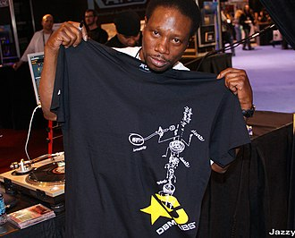 Jazzy Jay - Jazzy Jay performing at NAMM in 2009