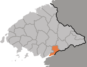 Pakchon County - Image: DPRK Pyongbuk Bakchon
